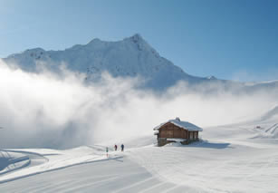 Les Contamines, quiet pistes, ideal for ski instruction courses